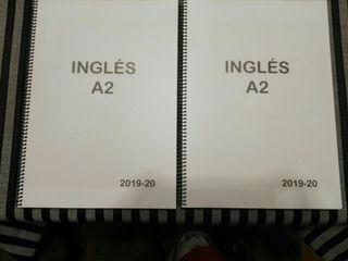 Dos libros de inglés A2