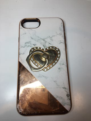 iphone 6 rose gold marble phone case