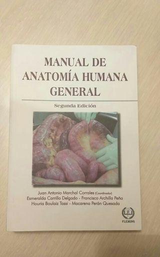 Libro de anatomía humana general