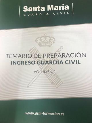 Temario Guardia Civil