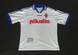camiseta Adidas real Zaragoza local 1998 talla m