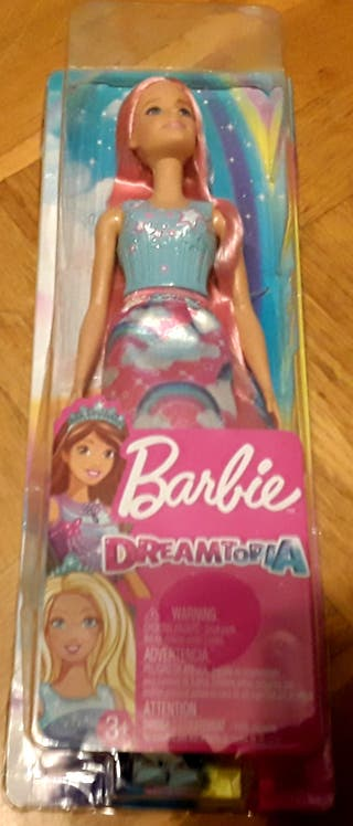 Barbie Dreamtopia, Muñeca peinados rubia.nueva