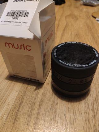 mini altavoz Bluetooth 4.0 acepta tarjeta micro sd