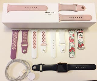 Apple Watch Serie 3 Rose Gold 42 mm de aluminio