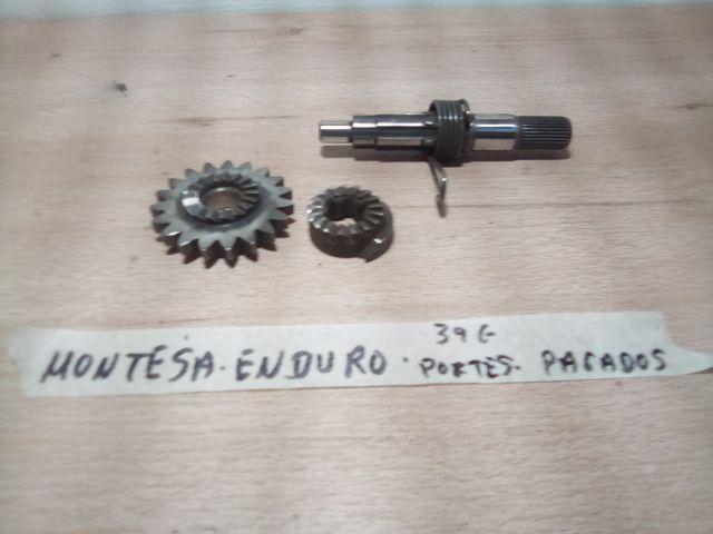 ENDURO eje Puesta en Marcha Montesa Enduro 74