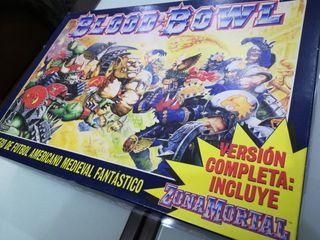 Bloodbowl en castellano edición de 1995. Warhammer