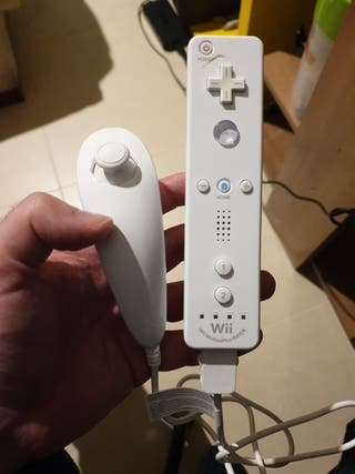 Mando wii motion plus integrado, más nunchuck
