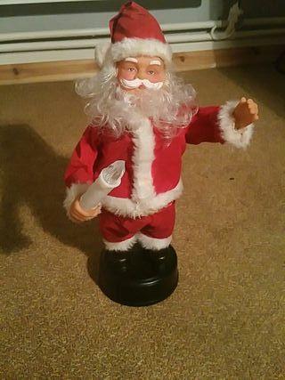 Moving Santa