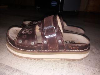 sandalias art num 37. zapatos art