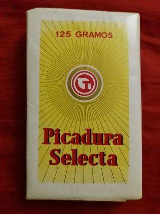 Antiguo paquete de Picadura Selecta. 125 Gramos