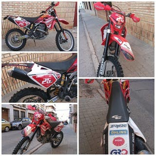Moto Enduro Gas Gas 450 fse