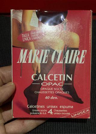 CALCETINES EJECUTIVOS UNISEX MARIE CLAIRE GRANATE