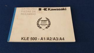 kawasaki kle 500 piezas