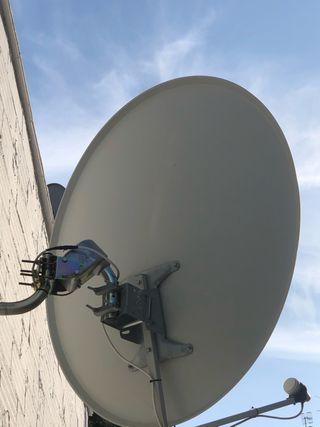 Antena parabolica 120motor