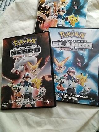 Pack DVD originales de Pokémon