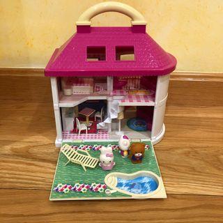 Casa portátil Hello Kitty