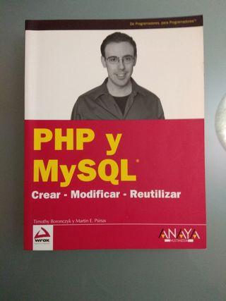 Libro sobre desarrollo web php