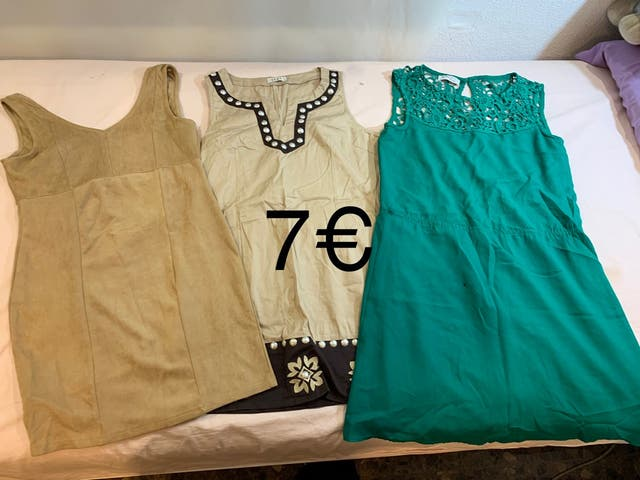 Pack vestidos M/L