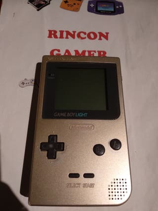 Consola game boy pocket light gold ORIGINAL