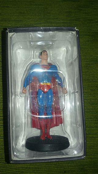 figura plomo eaglemoss Dc Superman