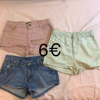Pack shorts 36