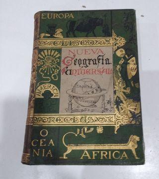 Nueva Geografía Universal . 1892