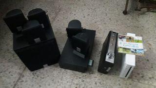se vende PS2 +Sonido 5.1 + Wuii