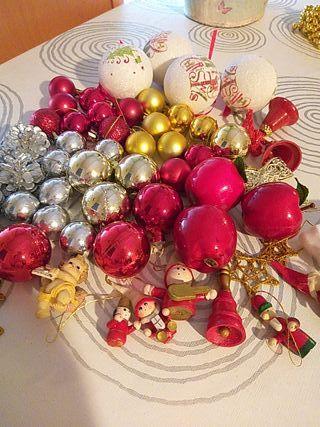 super lote de 60 adornos Navidad