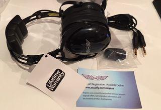 Aviation Headset ASA. Auriculares Aviación