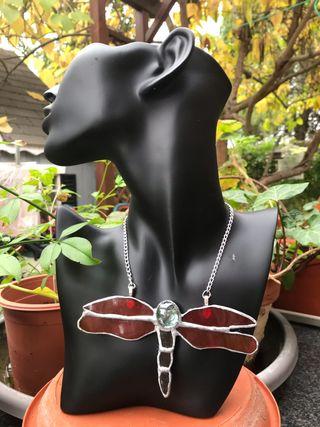 Cabochon colgante collar tiffany