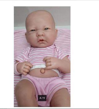 muñeca recien nacida Berenguer 2006