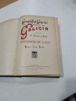 Geografía del reino de Galicia. Carreras Candi
