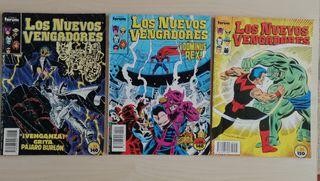 Comics Los Nuevos Vengadores núm. 23,24,25.