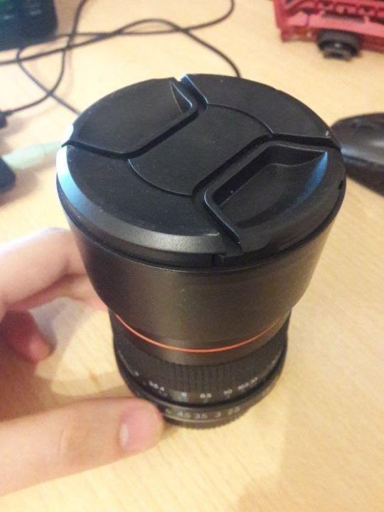 objetivo/lente 85mm f1.8 para nikon
