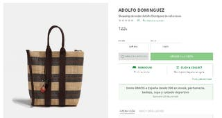 Bolso Adolfo Domínguez a estrenar