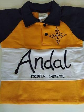 Uniforme guardería ANDAL