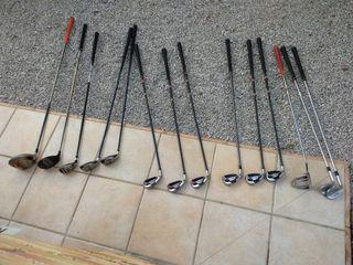 Palos de golf para zurdos