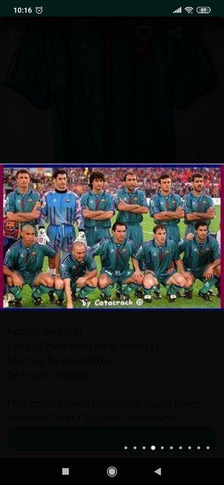 Camiseta Barça Kappa 96/97