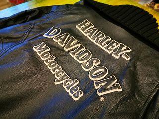 Chaqueta Harley Davidson original de piel XS