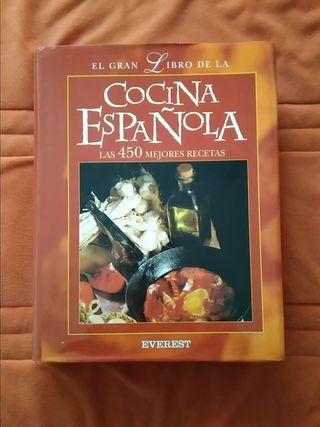 Libro Cocina. El gran libro de la cocina española