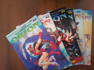 Orion manga cómic
