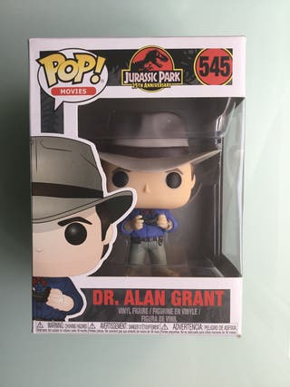Funko pop Dr. Alan Grant Jurassic Park 25 th