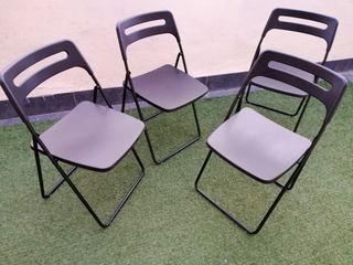 4 sillas plegables Nisse