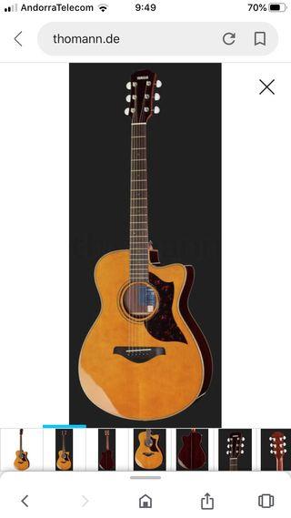 Yamaha ac3r guitarra acústica