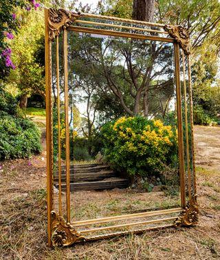 LIQUIDACIÓN Impresionante Espejo tipo Veneciano