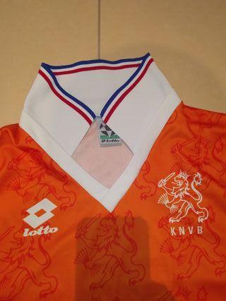 camiseta Lotto Selección de Holanda