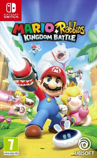 Videojuego Mario + rabbids kingdom battle switch
