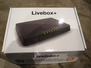 router fibra livebox plus