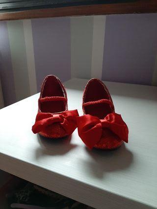 Zapatos disfraz Minnie Disney