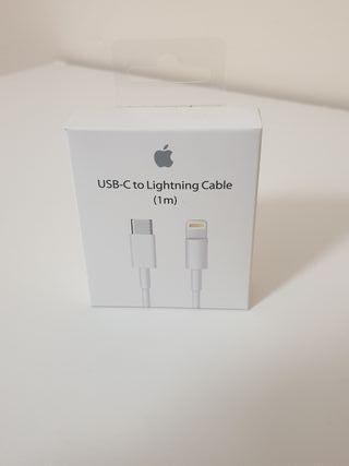 Cable tipo C a lighting de Apple original